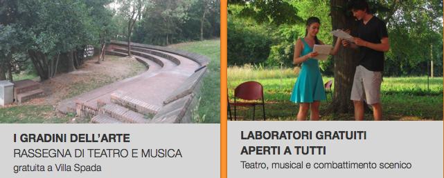 Un'estate di laboratori e spettacoli gratuiti!