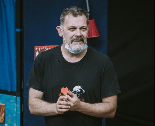 Insegnare teatro al tempo del Covid – Max Giudici si racconta